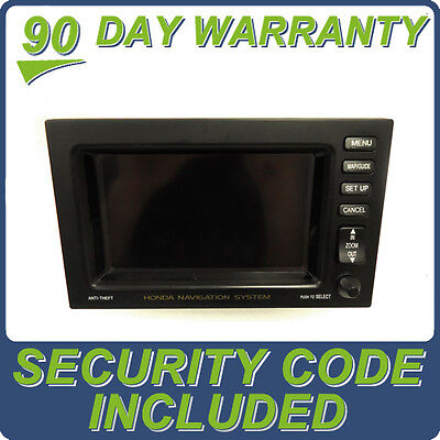 $110.40 • Buy 03 04 05 HONDA Pilot Navigation GPS System LCD Display Screen Monitor OEM Tested