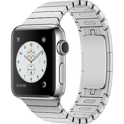 $ CDN1173.13 • Buy Apple Watch Series 2 42mm Stainless Steel Case Silver Link Bracelet MNPT2LL/A BX