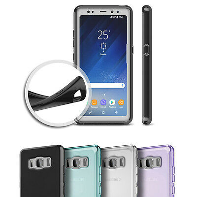 $ CDN3.13 • Buy Slim Glossy Soft TPU Silicone Case Cover Skin Shell For Samsung Galaxy S8 Active