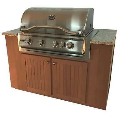 $4283 • Buy Sequoia Series Outdoor Grill Kitchen With Cabinets - NG