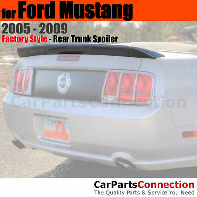 $114.92 • Buy Painted Trunk Spoiler For 2005-2009 Ford Mustang Cobra Style TL SATIN SILVER MET