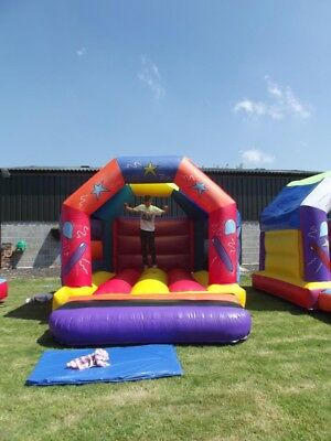 £1400 • Buy Two Bouncey Castles, Mats, And Blowers (Hardly Used)