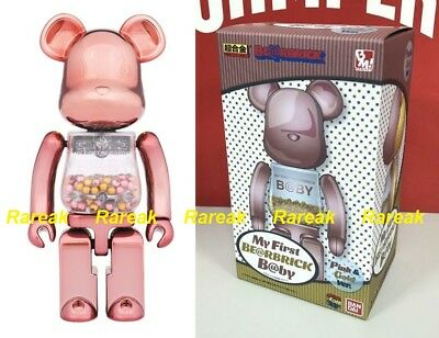 $342.99 • Buy Medicom Toy Plus Be@rbrick My First Baby 200% Chogokin Pink & Gold Bearbrick 1pc