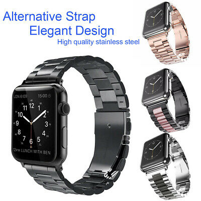 AU8.99 • Buy For Apple Watch Serie 5432 IWatch Stainless Steel Strap 38/42/40/44mm Watch Band