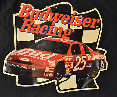 $ CDN44.25 • Buy Budweiser Nascar Racing Metal Sign #25