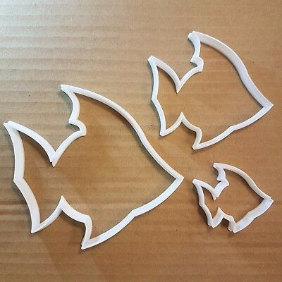 Fish Queen Angel Turbot Shape Cookie Cutter Animal Biscuit Pastry Fondant Sharp • 6.79£
