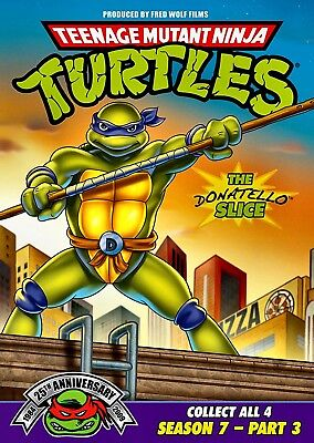 $ CDN10.79 • Buy NEW DVD - TEENAGE MUTANT NINJA TURTLES - SEASON 7 - PART 3 - 154 Min