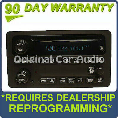$179 • Buy GMC Yukon Sierra CHEVY Avalanche Suburban Tahoe Radio CD Player 03 04 05 06 07