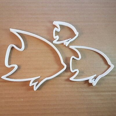 Angel Fish Dory Animal Shape Cookie Cutter Biscuit Pastry Fondant Sharp Beach  • 7.69£