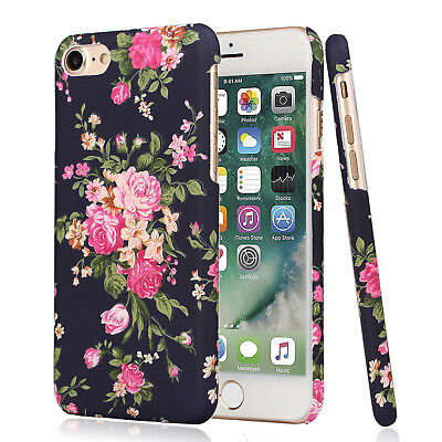 AU9.49 • Buy For Apple IPhone 8 Plus Flower Case For Girls Women, Floral Vintage Chic Cover
