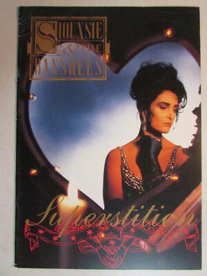 Siouxsie And The Banshees Superstition 1991 Concert Tour Book Program Very Rare • 71.52£