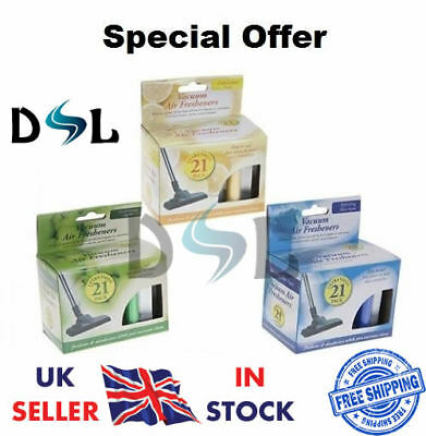 Vacuum Scented Air Fresheners Freshners Hoover Dust Bags Filters Cleaner Vac  • 1.49£