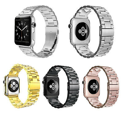 AU18.59 • Buy Stainless Steel Bands Strap Bracelet For Apple Watch Iwatch 38/40/42/44mm