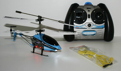 £24.99 • Buy Skytech M5 RC Helicopter Gyro Remote Control Aircraft Electric Micro 3 Channel