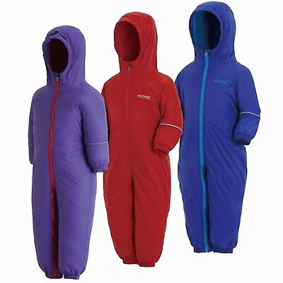 Regatta Splosh III Fleece Lined Waterproof All-in-one Suit Snowsuit • 17.40£