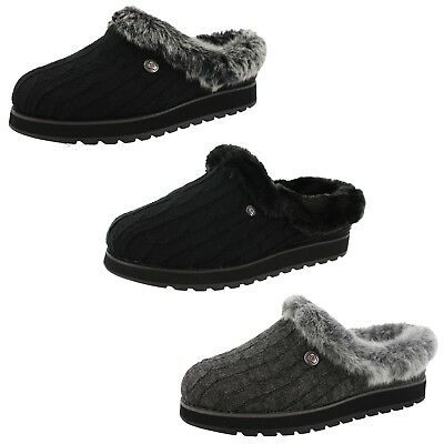 Bobs From Skechers Womens Keepsakes Ice Angel Medium / Wide Width Slippers • 28.91£
