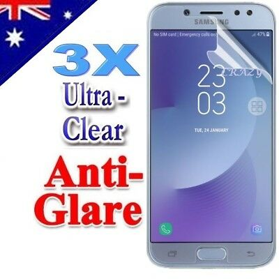 AU3.49 • Buy 3X Clear & Matte Screen Protector Film For Samsung Galaxy J3 Pro J5 J7 Pro 2017