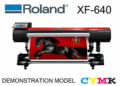AU30499 • Buy Roland Xf-640 Cmyk Fully Optioned Wide Format Solvent Vic Pick Up