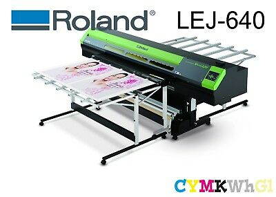 AU29999 • Buy Roland Lej-640 Cmykwg Uv Hybrid Flatbed Printer Qld Pick Up