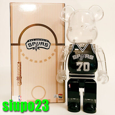 $179.99 • Buy Medicom 400% Bearbrick ~ Milk Magazine X NBA Be@rbrick San Antonio SPURS