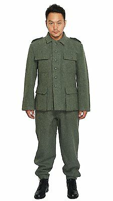 $133.32 • Buy WWII German Military M43 Wh Em Field Wool Uniform Jacket And Trousers  XL