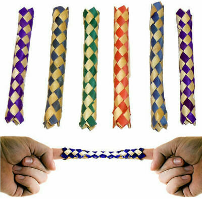 £1.99 • Buy Chinese Finger Trap Bamboo Puzzle Novelty Trick Party Bag Filler