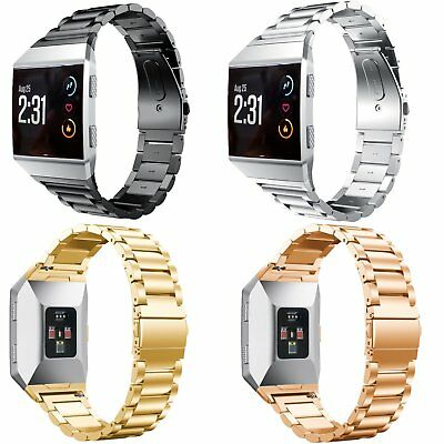 AU13.79 • Buy Precision Stainless Steel Wrist Band Link Bracelet Strap For Fitbit Ionic Watch