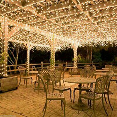 $35 • Buy 100-400LED Warm White String Fairy Lights Christmas Party Wedding Garden Decor