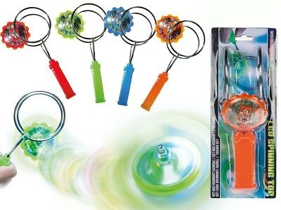 £6.99 • Buy Magnetic Gyroscope Toy LED Colour Changing Kinetic Spinning Top Kids Fun Gift