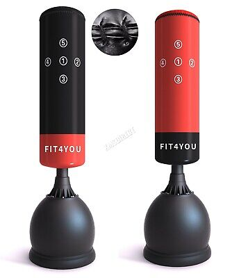 AU163.19 • Buy FIT4YOU Punch Bag Heavy Duty 5.5ft Standing Boxing MMA Gym Kick Training SPB01