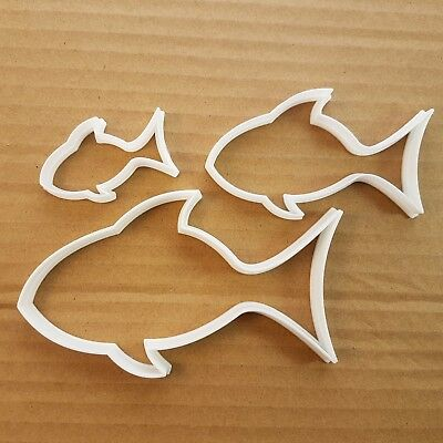 Fish Bream Animal Shape Cookie Cutter Dough Biscuit Ocean Pastry Fondant Sharp • 6.79£