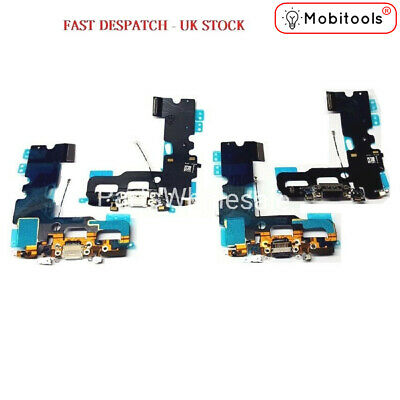 NEW IPhone 7 4.7  Lightning Charging Block Port Flex Cable With Mic  • 4.49£