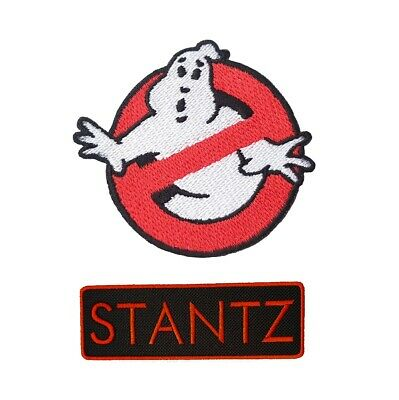 Ghostbuster Embroidery Patches Iron On Sew Tag Name Jacket Badge Jeans Applique  • 2.40£