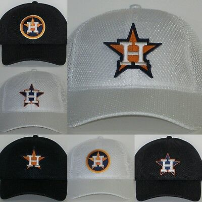 Houston Astros Air Mesh Pro Style Cap ✨Hat ✨CLASSIC MLB PATCH LOGO ✨ 3f0ea656a057