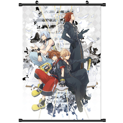 AU4.03 • Buy Anime Kingdom Hearts 3D Dream.Drop Distance Wall Poster Scroll Cosplay 3228