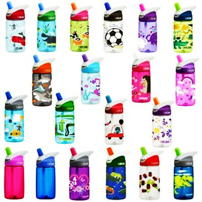 AU17.29 • Buy CamelBak Eddy Kids 400ml Water Spill Proof Bottle - Child Safe 100% BPA Free