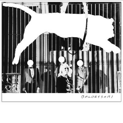 John Baldessari Tiger Without Stripes Poster Unsigned • 83.85£