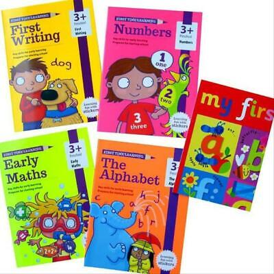 First Time Learning 4 Books Set Ages 3+ Brand New!!!! • 12.99£