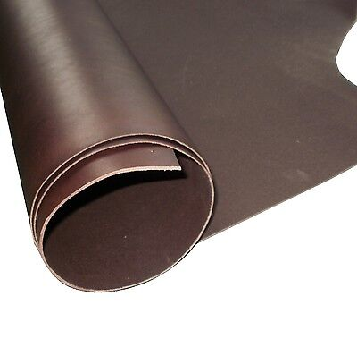 Tooling Craft Leather Brown 2mm Thick Premium  Veg Tan Cowhide Shoulder - Hide  • 16.49£
