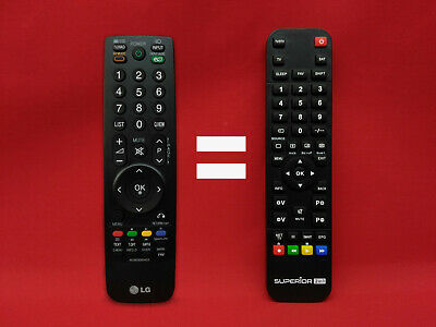 £28.91 • Buy Remote Distance Replaceable For TV LG Model TV: 42LF2500