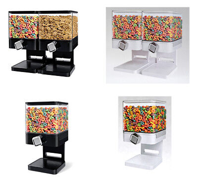 £16.99 • Buy Cereal Dispenser - Double-Single Cereal Storage Machine,1 Ounce Of Dry Food