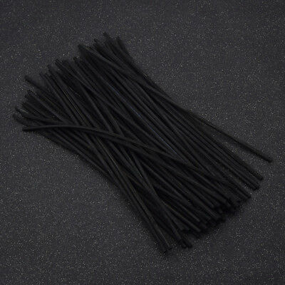 AU3.99 • Buy Black Rattan Reed Replacement Craft Refill Stick Fragrance Diffuser Gift 50 Pcs