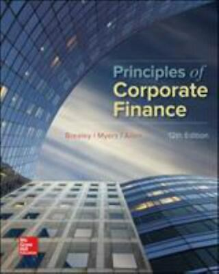 £72.75 • Buy Principles Of Corporate Finance By Franklin Allen, Stewart C. Myers And...