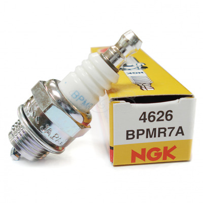 Spark Plug Ngk Bpmr7a Motorcycle Lawn Mower Moped Rototiller Chain Saw Vintage • 4.42£