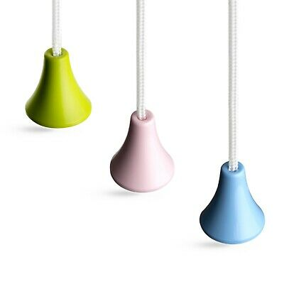 Bathroom Light Pull Strings, Choice Of Three Classic Colours. Ice White Cord. • 3.25£
