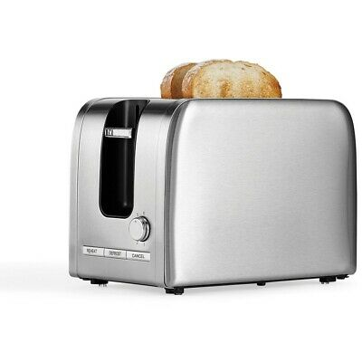AU25 • Buy Contempo 2 Slice Stainless Steel Toaster - T386