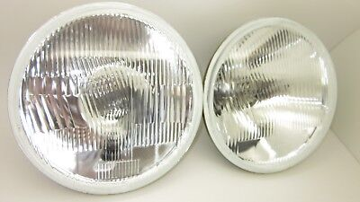 AU59 • Buy 7 Inch Round H4 Halogen Headlight Set Suit Holden Valiant Ford Without Park Lamp