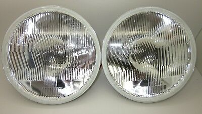 AU65 • Buy 7 Inch Round H4 Halogen Headlight Set Suit Holden Valiant Ford With Park Lamp