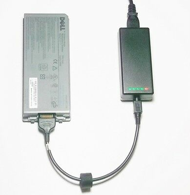 External Laptop Battery Charger For DELL Latitude D810 D840 Precision M70, Y4367 • 52.98£