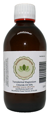 325ml Magnesium Chloride Oil High Strength With Added Tea Tree Oil • 19.49£